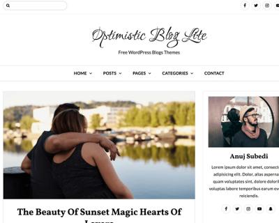 Optimistic Blog Lite
